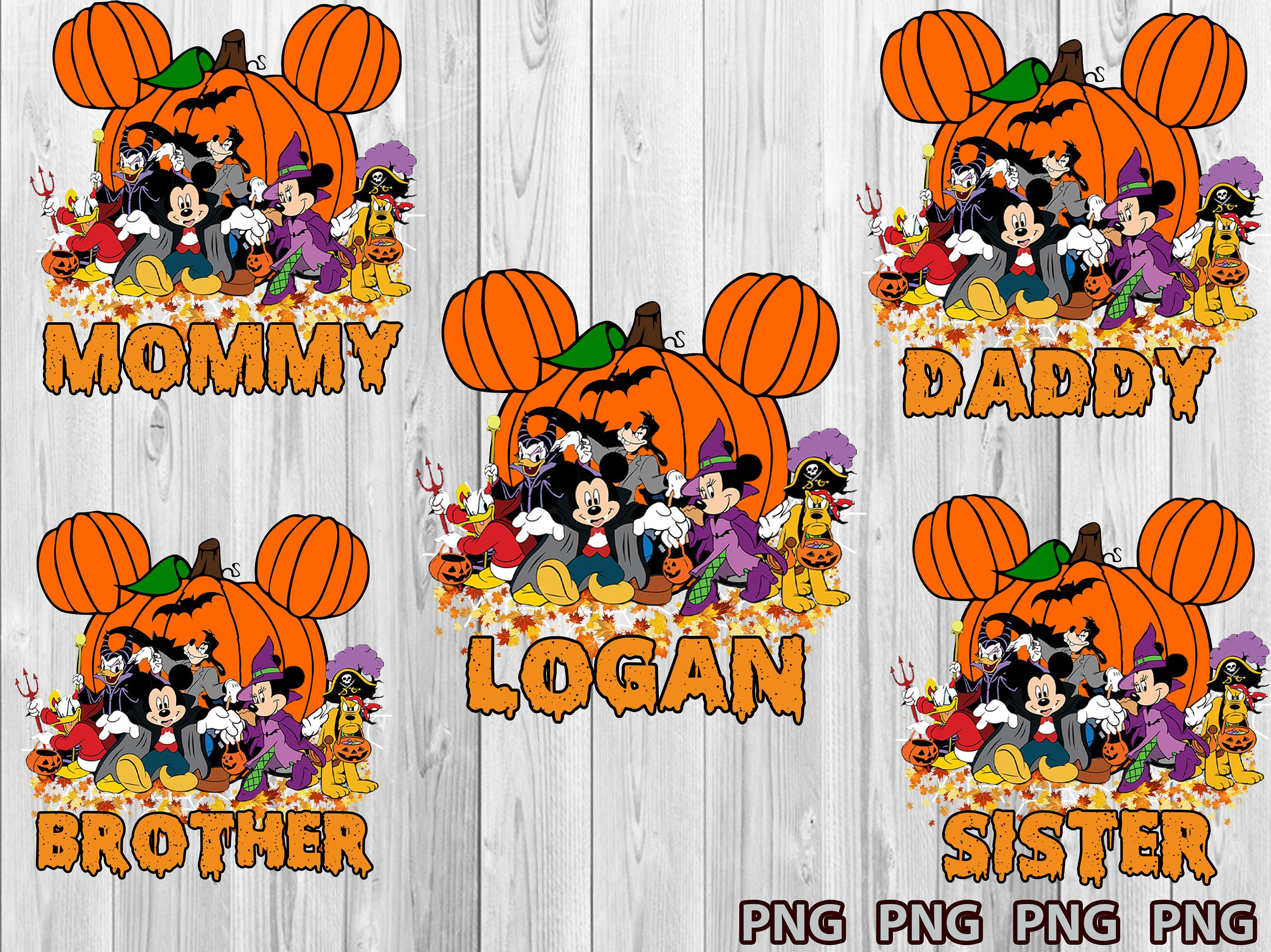 Mickey Trick or Treat Svg, Mickey Head With Castle Svg, Halloween Family Svg, Mickeys Halloween Svg, Mickeys Not So Scary Halloween Svg