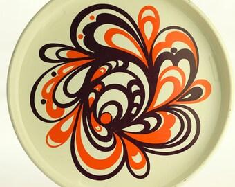 Laurids Lonborg tray, design Dorothe Bruun Rasmussen, Denmark, 1960's