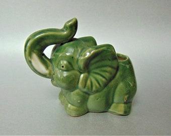 Mid Century National Potteries of Cleveland Co NAPCO Big Ears Elephant Figurine
