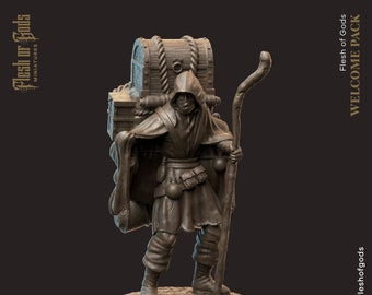 Merchant | Trader | Salesman Miniature for Dungeons and Dragons|Tabletop RPGs