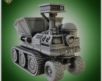 Dump truck Vehicle Terrain for Warhammer|Tabletop Wargames|RPGs