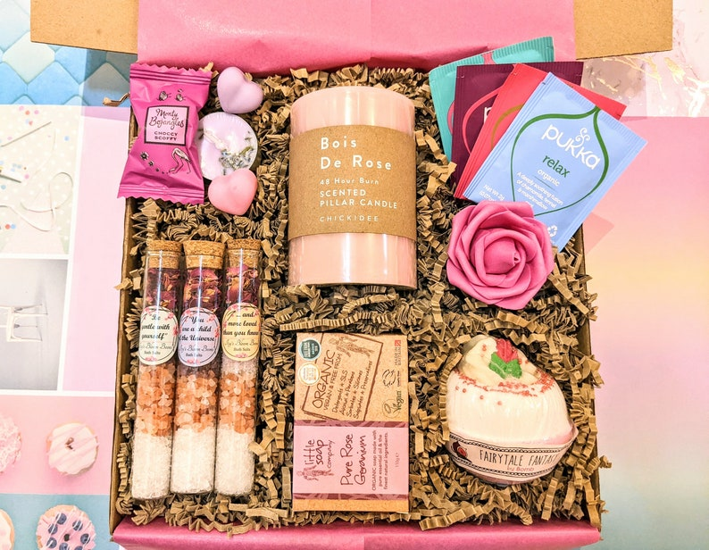 spa gift box for her for valentines day gift