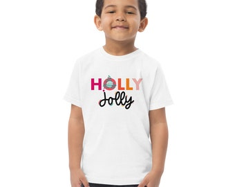 Toddler Holly Jolly Christmas T-shirt