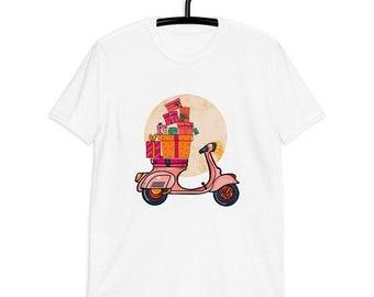 Vespa Sleigh ride | Christmas family t-shirt | Christmas Presents