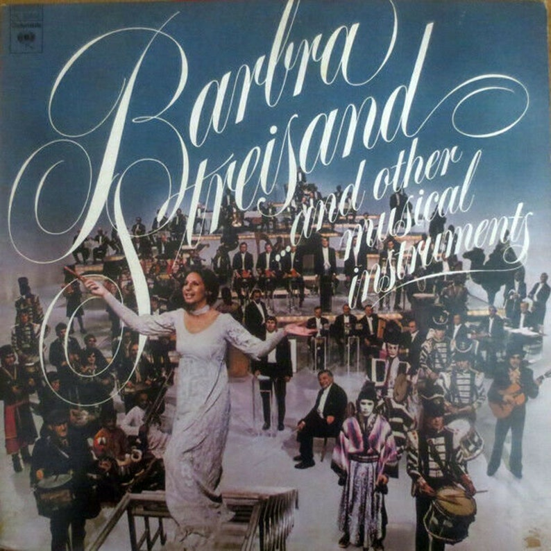 Barbra Streisand and Other Musical Instruments Vintage Vinyl LP PC 32655 Sealed!