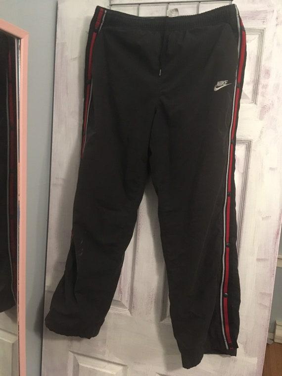 Vintage 90s Nike Tear-Away Track Pants