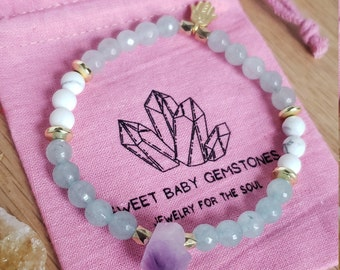 Good Energy Vibes Harmony Balance Bracelet Silver Bali Bead Dividers Korean Jade /& African Jade Gemstone Beads
