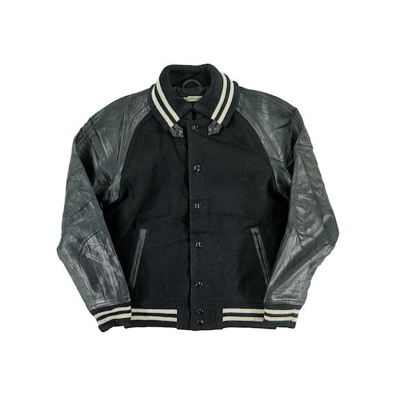 Journal Standard Varsity Jacket Wool Size M Black