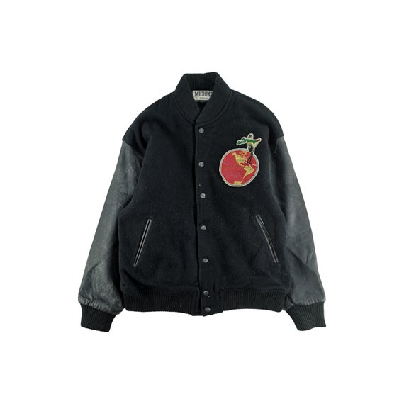 Michiko Koshino London Varsity Jacket Wool Size M