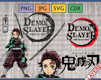Anime Svg, png, jpg, cdr, vectors, Instant download, Layered, Easy to cut and print.
