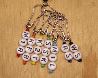 Stitch Markers -- Knitting Shorthand
