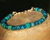 Black Ethiopian Opal Bracelet, Ethiopian Opal Bracelet, Ethiopian opal Smooth beads, Ethiopian opal Round beads, Opal Rondelle Beads