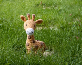 Giraffe CROCHET PATTERN, Amigurumi Plush Pattern, Crochet Animal Tutorial