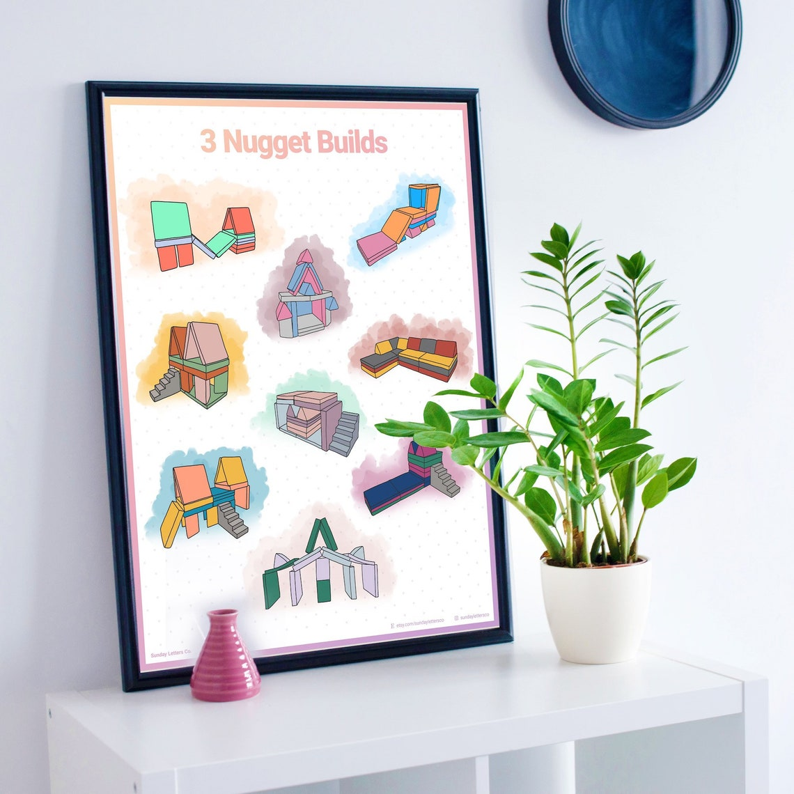 3 Nugget Builds Nugget Couch Ideas Cartel Minimalista   Etsy