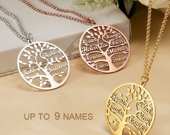 tree necklace custom name necklace Christmas tree necklace tree jewelry winter jewelry christmas necklace personalized name necklace