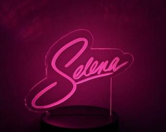 Selena Quintanilla - LED Night Light Lamp