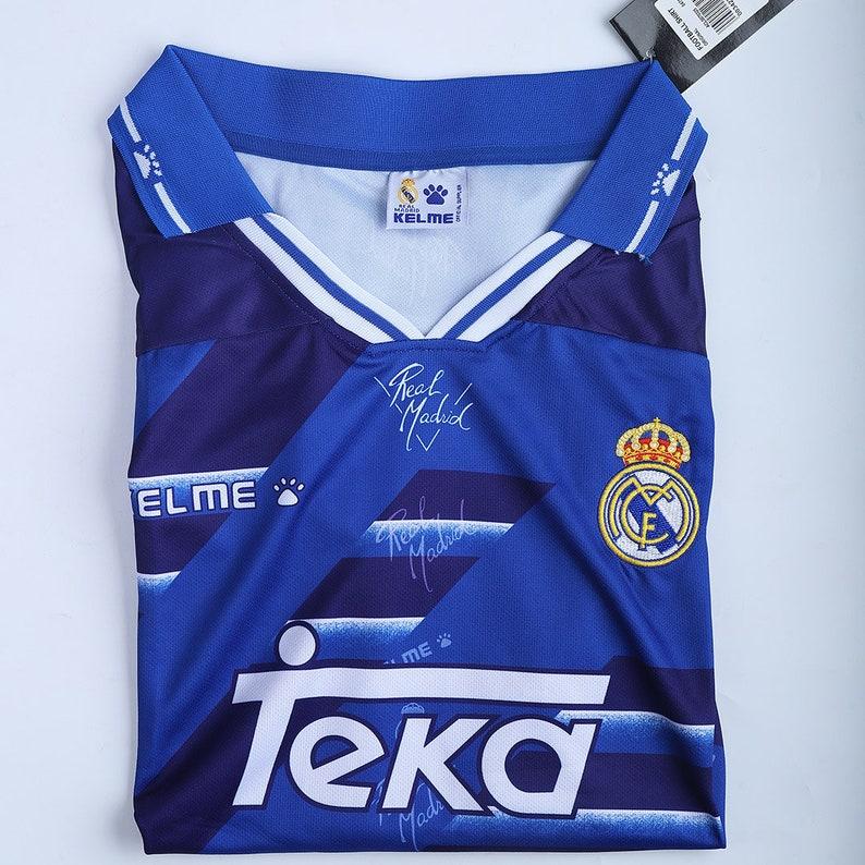 Real Madrid 9495 Retro Away Kit