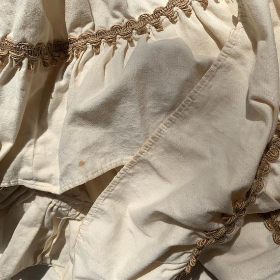 1970s Vintage Prairie Boho Mixi Dress-Gunne Sax S… - image 7