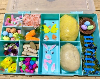 Easter activity box- sensory box