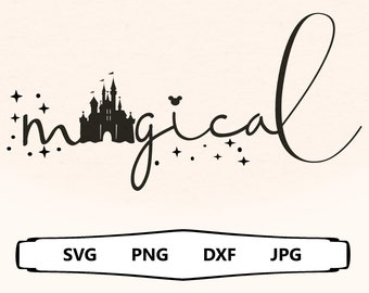 Magical Svg, Magical and Fabulous, Family Trip Shirt Svg, Fairy Sparkle, Pixie Dust Svg, Tinkerbell Quote Svg, Stay Magical Svg