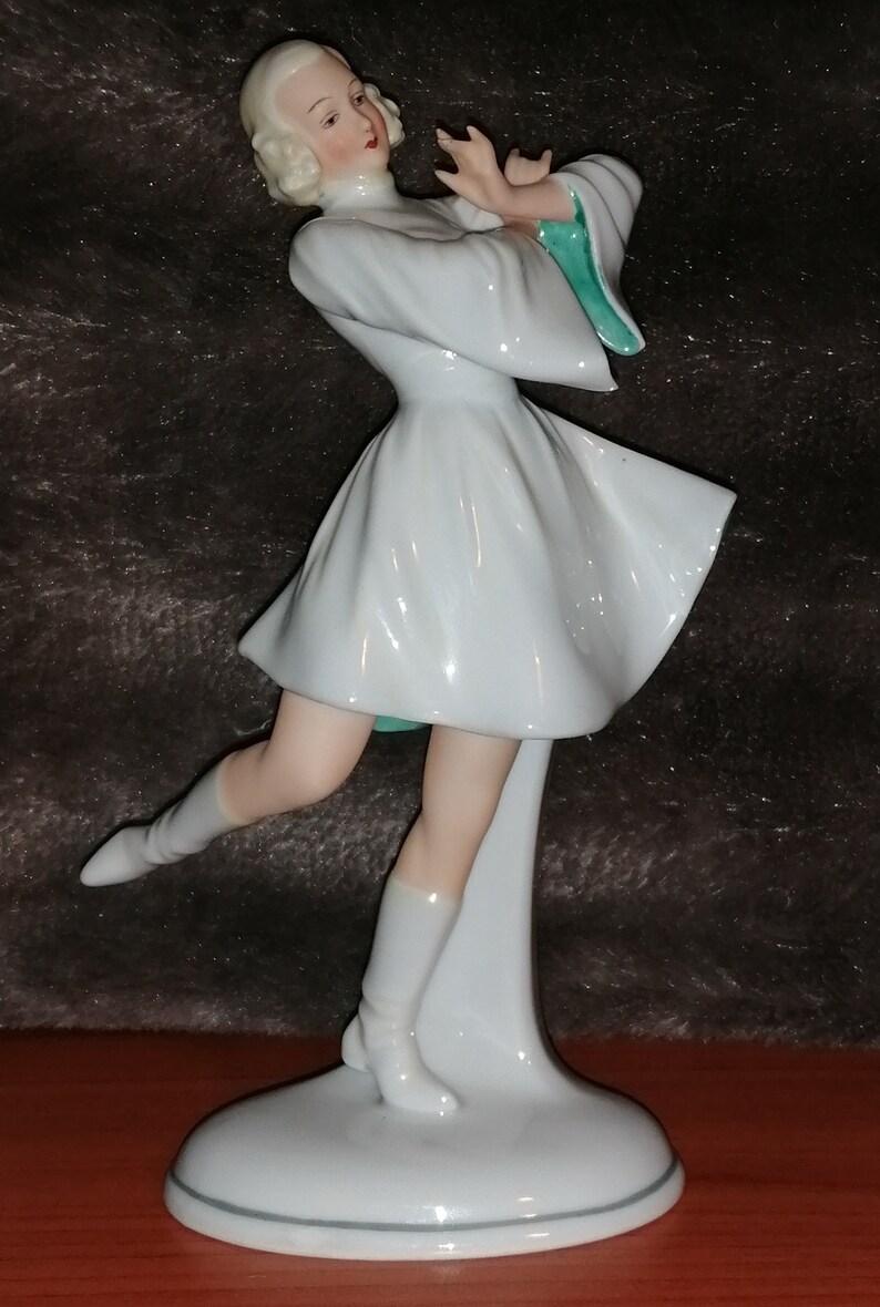 Porcelain statuette Dancer Schaubach Kunst