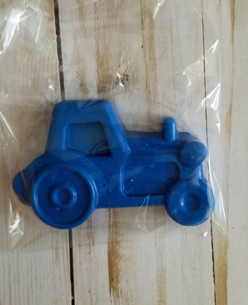 6pack Jumbo Vehicle Handmade Crayons Scent Optional!