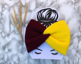 Harry Potter inspired colors Ear warmer