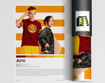 Juno a4 movie art print