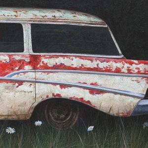 MAD MAN  55 Chevy NoMad station wagon