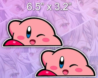 3 Kirby LOZ Vinyl Sticker