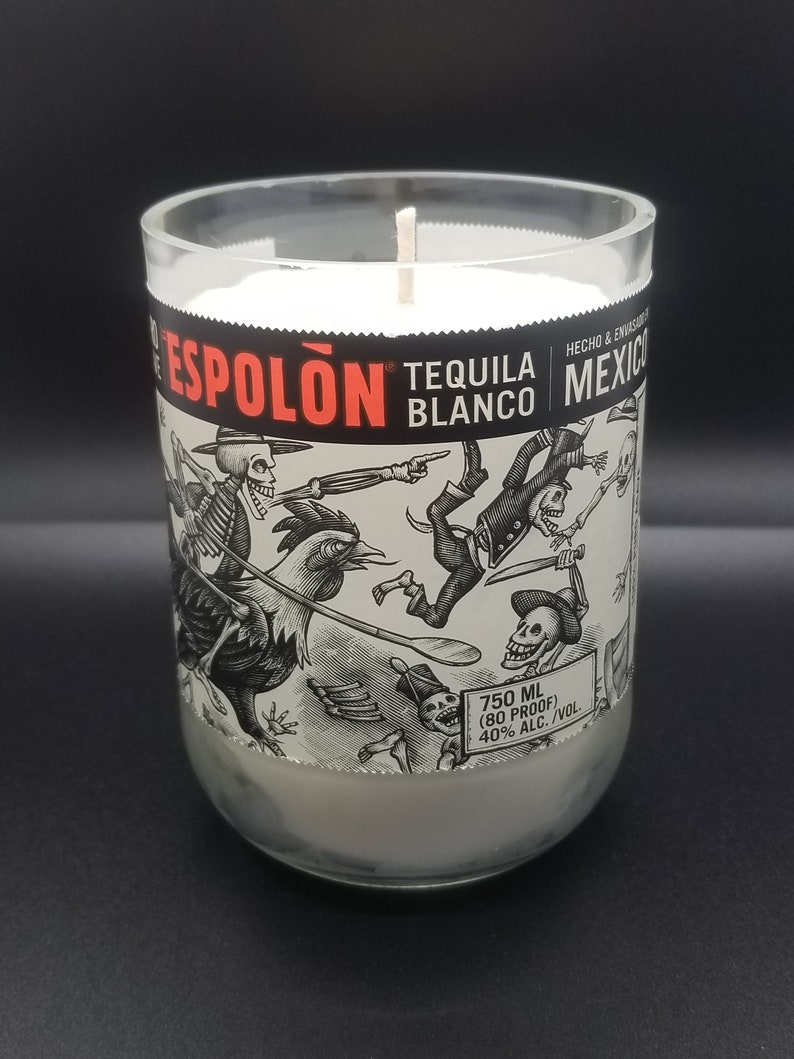 Espolon Blanco Tequila Soy Candle