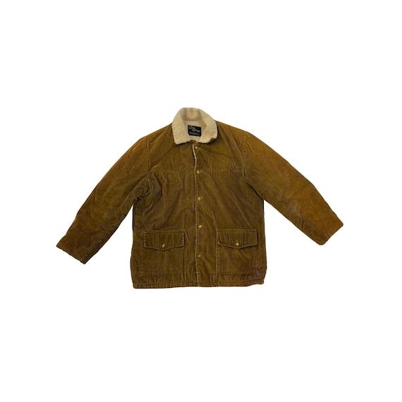 70s Corduroy Fleece Camping Jacket