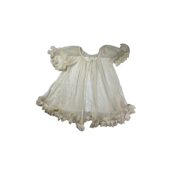 50s Babydoll Frilled Nightie