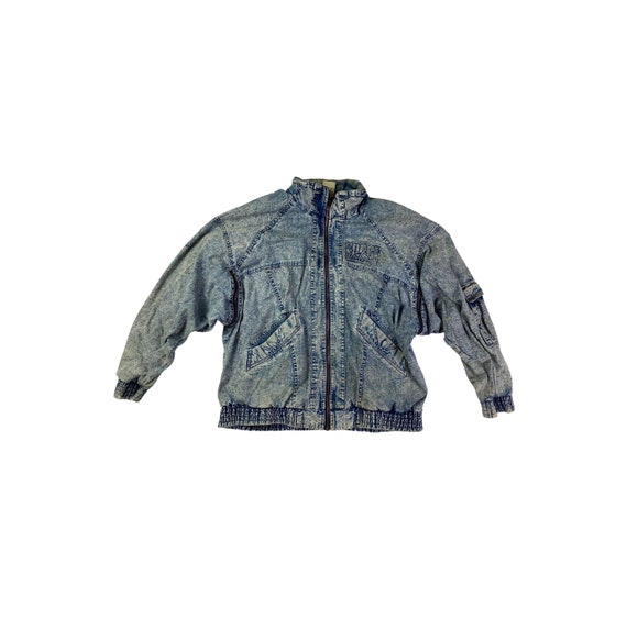 Nike Air Force Demin Zip Up Jacket