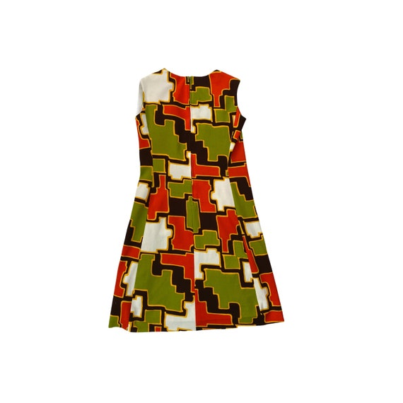 60s Mid Century Mod Dress