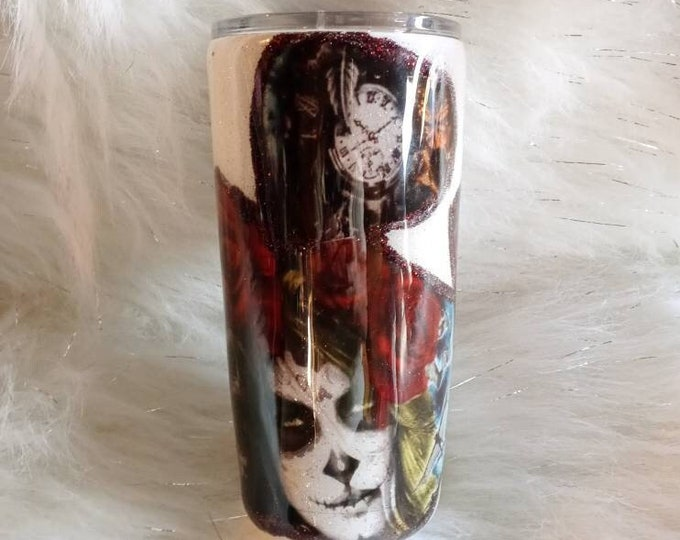 Goth Inspired Tattoo Style Tumbler