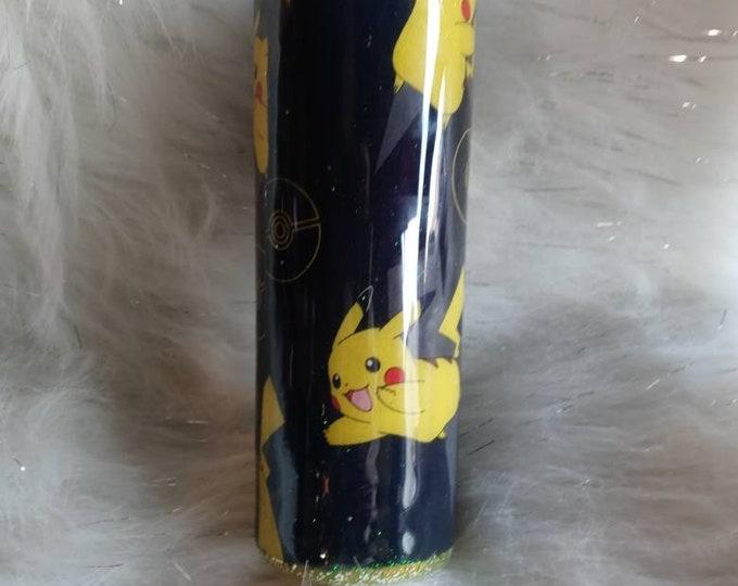 Pikachu Fabric Tumbler