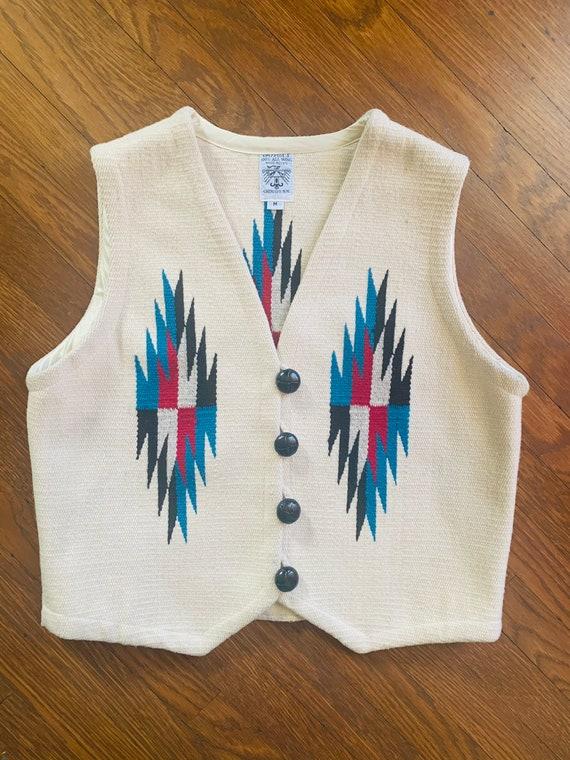 Vintage Chimayo Ortega vest