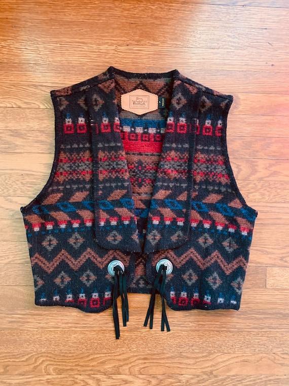 Vintage Woolrich wool vest