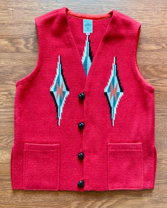 Vintage Ortega Chimayo vest
