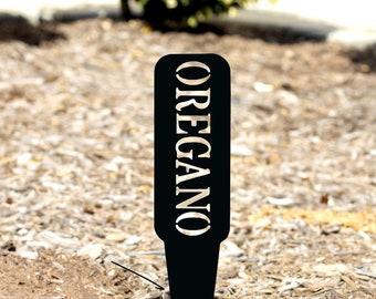 Metal Garden Stake for Herbs, Herb Plant Marker, Fall Gardens, Fall Gardening