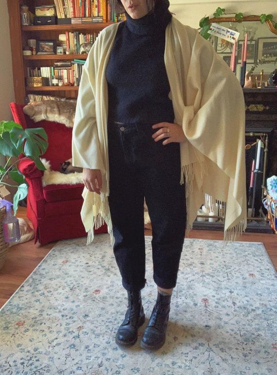 Moschino Wool Poncho
