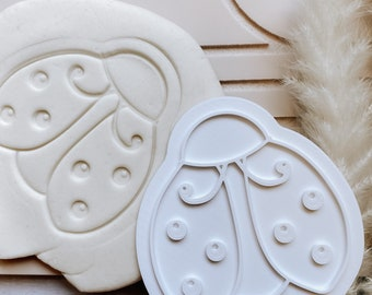 Ladybug Cookie Stamp and Cutter
