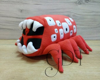 Handmade, soft toy, made to order, scp Siren Head  ( unofficial) train eater scp 052 SCP Foundation