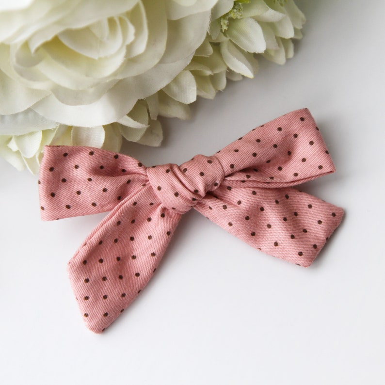 Hair Accessories for Baby and Toddler New Spring Floral Hand Tied Bow Clips Headbands|Handmade Bow Clips Headbands