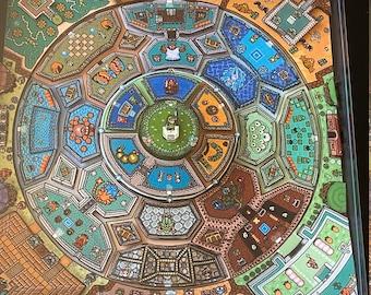 Legend of Zelda Mandala 3D Art