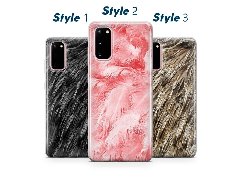 Wildlife Samsung Note 8 S10 S20 S8 Bird Fearhers Phone Case For iPhone 11 Pro 7 8 X XS XR SE 12 Pattern F20 Huawei P20 P30 Lite P40