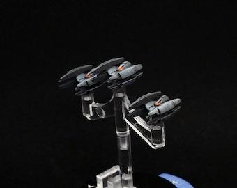8x Star Wars Armada Vulture-class Droid Fighters