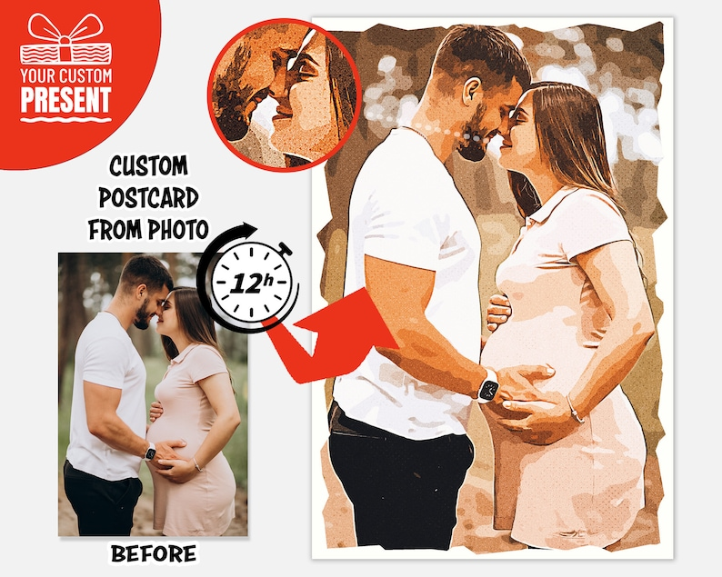 This custom photo postcard will bring tears to your spouse or partner this anniversary. 'Absolutely stunning, extremely happy' are the common words that come out of the recipient's mouth. Engraving photos on wood makes this gift extremely special. That's why many people shout out to this product and highlight it as a perfect gift that should be bought to impress your partner. Who can hold the tears with this product, you will find the answer.