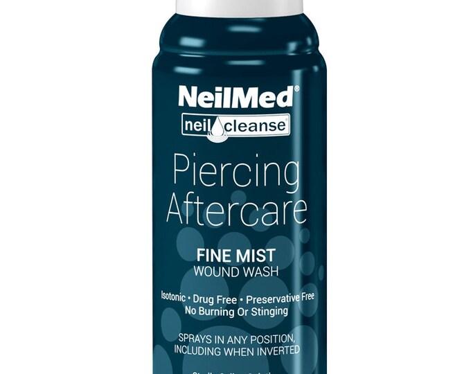 NeilMed Piercing Aftercare Fine Mist Saline Spray